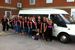 stag and hen groups - extra mile coaches