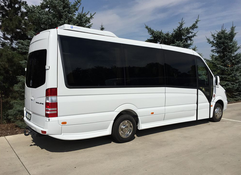 Extra Mile Coaches minibus for hire