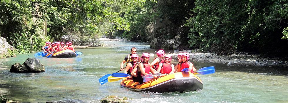 water rafting in Scotland - outdoor activities trip