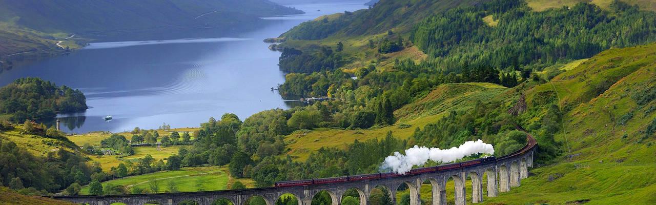 breath taking view of Scotland tours