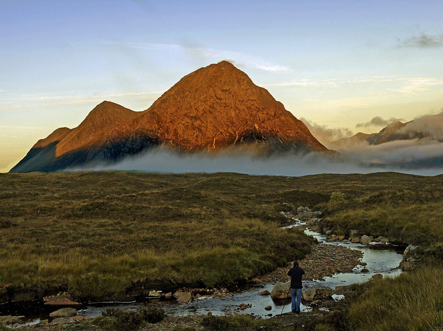 LOOKING TOWARDS THE BUACHAILLE AND GLEN COE